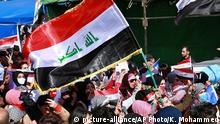 Irak Proteste von Frauen in Bagdad