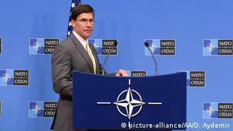 Belgien NATO   US-Verteidigungsminister Mark Esper (picture-alliance/AA/D. Aydemir)