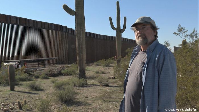 Kevin Dahl im Organ Pipe Cactus National Monument