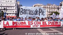 Argentinien: Proteste in Buenos Aires