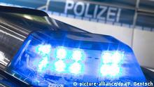 Deutschland Blaulicht Polizei Razzia Symbolbild