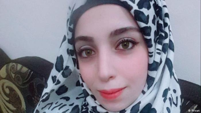 Syrien Mona Al-Bakkoor aus Idlib