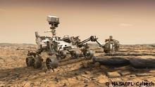 NASA MARS2020 Rover