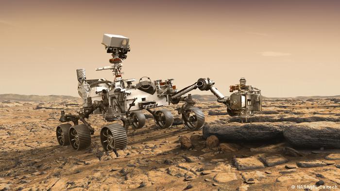 Марсохід Perseverance слідуватиме за водою