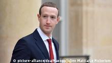 10.05.2019, Frankreich, Paris: ©Julien Mattia / Le Pictorium/MAXPPP - Julien Mattia / Le Pictorium - 10/05/2019 - France / Ile-de-France / Paris - Le President de la Republique Francaise, Emmanuel Macron recoit le PDG de Facebook, Mark Zukerberg au Palais de l'Elysee, le 10 Mai 2019. / 10/05/2019 - France / Ile-de-France (region) / Paris - The President of the French Republic, Emmanuel Macron receives Facebook CEO Mark Zukerberg at the Elysee Palace on May 10, 2019. Foto: Julien Mattia / Le Pictorium/MAXPPP/dpa |