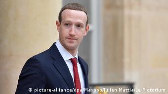 Frankreich Paris | Mark Zuckerberg, CEO Facebook | Treffen mit Emmanuel Macron, Präsident