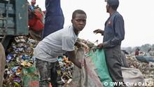 Kenia Dandora-Müllkippe Plastikmüllsammler