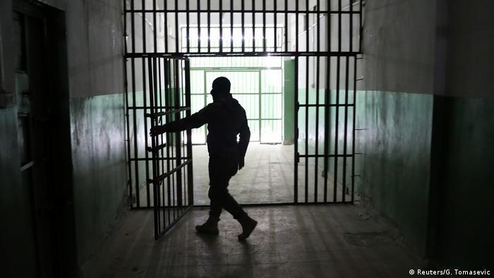 Надзиратель в сирийской тюрьме