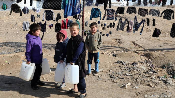 Syrien IS-Gefängnis im al-Roj-Camp
