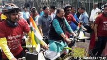 Indien | Demo in Kalkutta