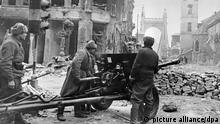 Ungarn 2. Weltkrieg Kampf um Budapest 1945