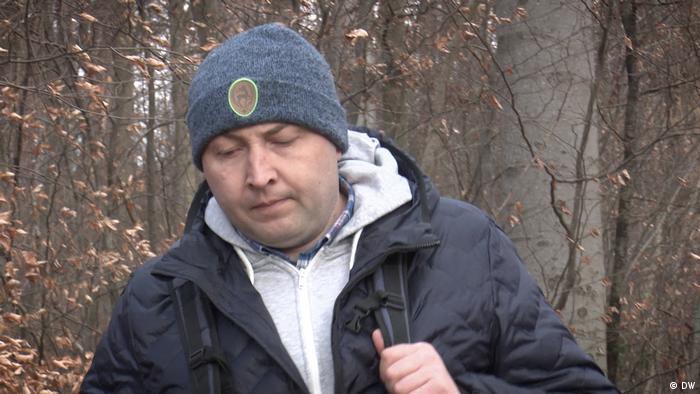 Юрий Гаравский, экс-боец белорусского СОБРа