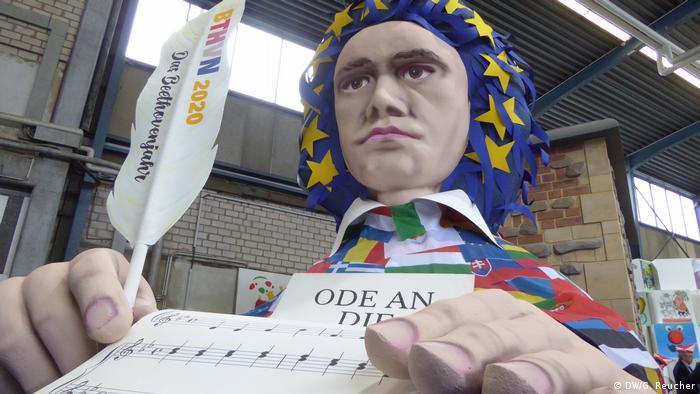 Deutschland Vorstellung des Motivwagens Ode an die Freu(n)de