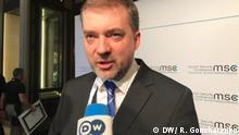 Deutschland München Sicherheitskonferenz MSC Andriy Zahorodnyu