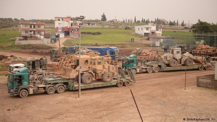 Türk Silahlı Kuvvetleri takviye güç ve askeri araç göndermeye bugün de devam etti