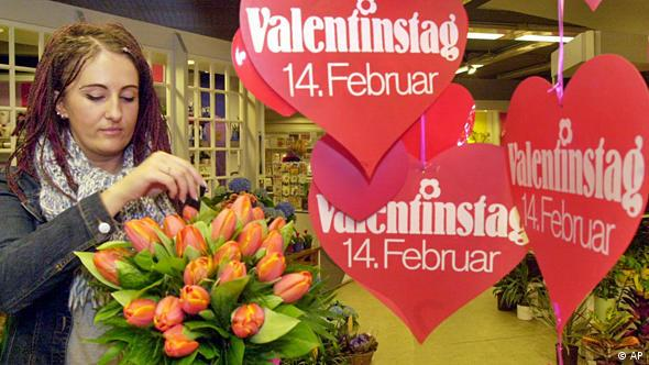 Florists have long dominated Valentine's Day sales in Germany