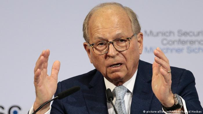 Munich Security Conference Chairperson Wolfgang Ischinger
