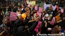 Photos from protests against the Indian Citizenship Amendment Act, taken at Shaheen Bagh in New Delhi, India on February 13, 2020.