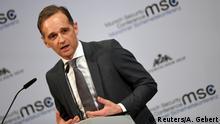 Deutschland | München | Sicherheitskonferenz MSC | Heiko Maas
