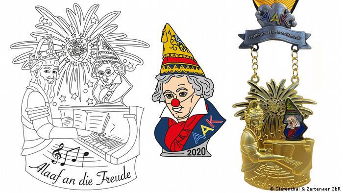 Collage AAK und Beethoven-Orden