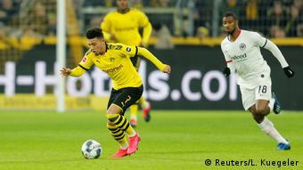 Jadon Sancho had another fantastic night for Borussia Dortmund