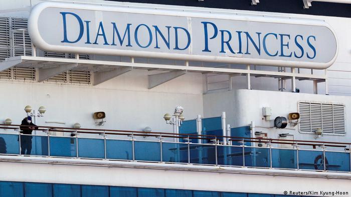 El Diamond Princess fue declarado en cuarentena el pasado 3 de febrero con unas 3.700 personas a bordo