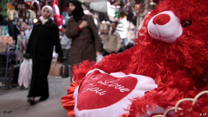 Valentinstag in Damaskus Syrien 2010 (AP)