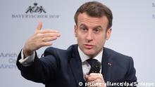 Münchner Sicherheitskonferenz MSC Emmanuel Macron