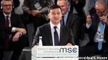 Münchner Sicherheitskonferenz Voladimir Selenskyj