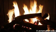 Kamin Feuer Kaminfeuer