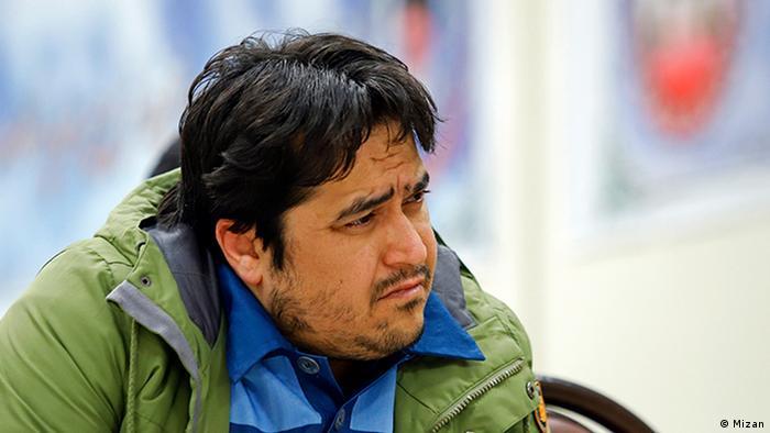Prozess gegen Rouhollah Zama, Direktor des Telegrammkanal Amadnews Teheran Iran (Mizan)