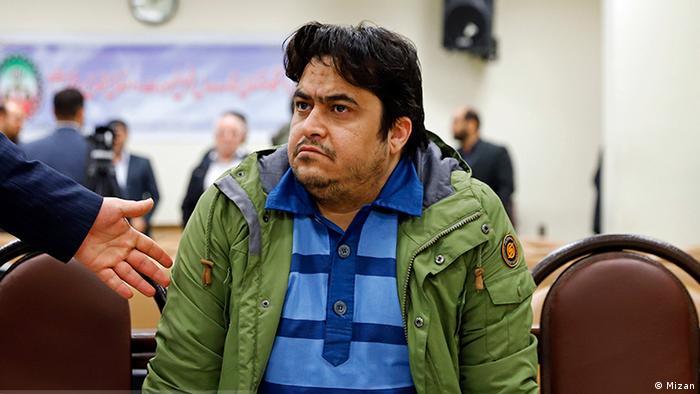 جلسه دادگاه روحالله زم، خبرنگار مخالف حکومت جمهوری اسلامی