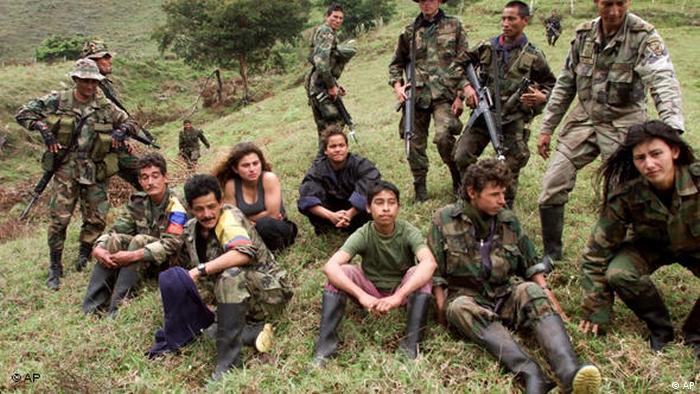 Kolumbien Kindersoldaten FARC Armee Flash-Galerie