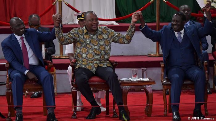 Kenia Symbolbild Wahlen und Social Media