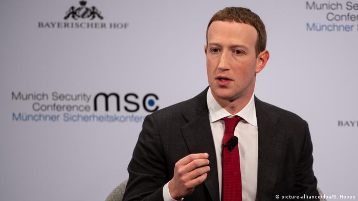 Münchner Sicherheitskonferenz Mark Zuckerberg