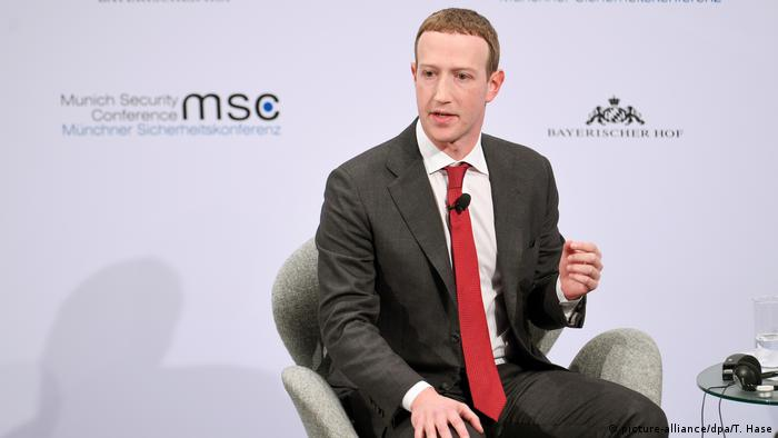 Mark Zuckerberg at the Munich Security Conference