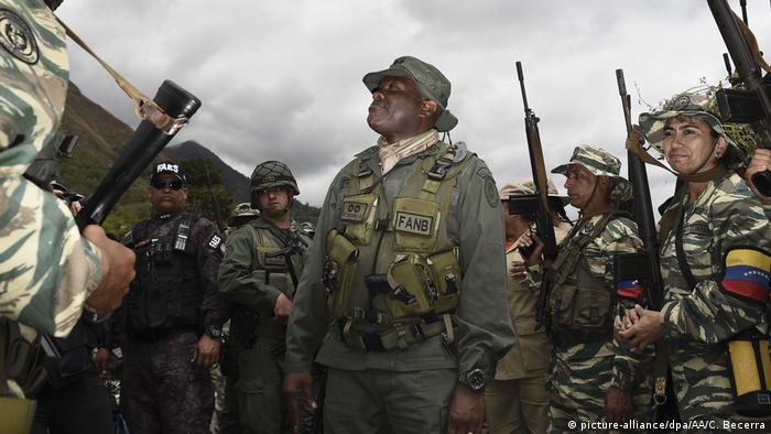 Venezuela   Militärübung