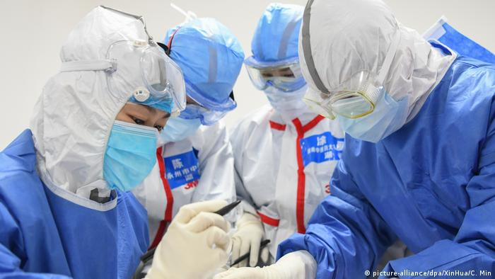 China | Coronavirus (picture-alliance/dpa/XinHua/C. Min)