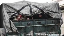 Syrien Idlib Zivilisten FLucht Bürgerkrieg