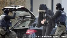 Mutmaßliche rechte Terrorzelle - Festgenommene beim BGH Karlsruhe