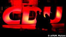 CDU Logo Symbolbild Krise