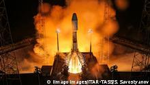 Französisch-Guyana Sojus-ST Raketenstart start