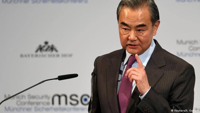 Очільник МЗС Китаю Ван Ї заявив, що США і Китай перебувають на межі холодної війни