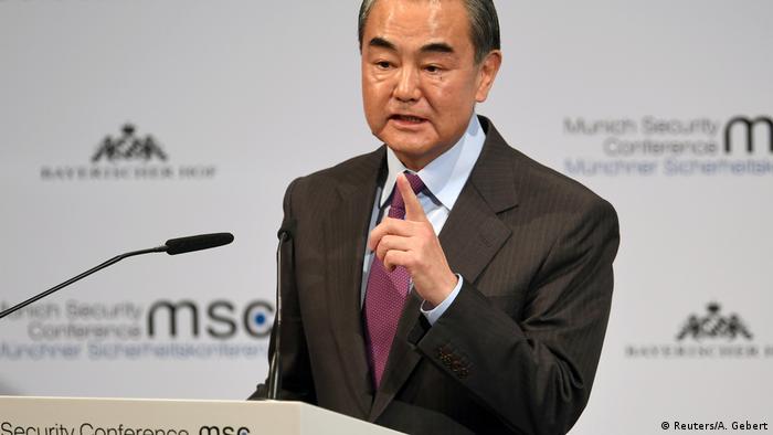 Deutschland München Sicherheitskonferenz | Wang Yi (Reuters/A. Gebert)
