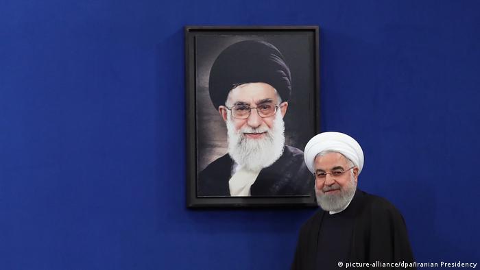 Iranian Präsident Hassan Rouhani PK
