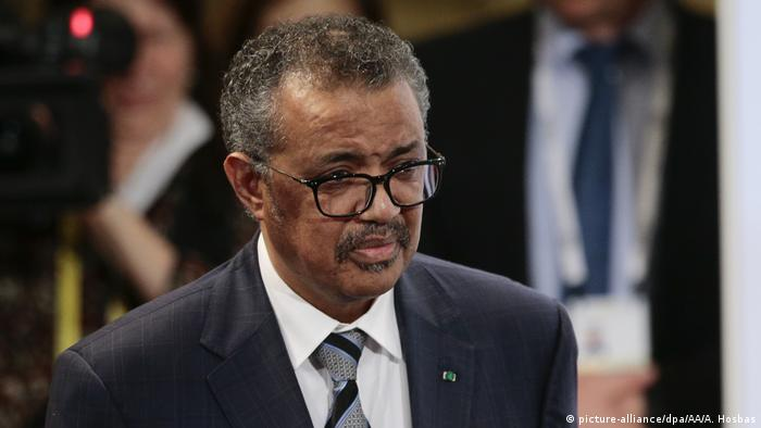 WHO-Chef Tedros Adhanom Ghebreyesus (picture-alliance/dpa/AA/A. Hosbas)
