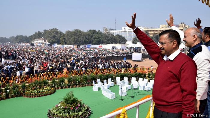 Indien Wahlsieger Arvind Kejriwal
