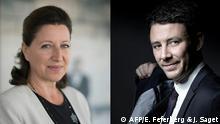 Frankreich Benjamin Griveaux und Agnes Buzyn
