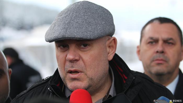 Ivan Gheşev, procurorul general al Bulgariei