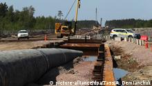 Russland Baustelle Nord Stream 2